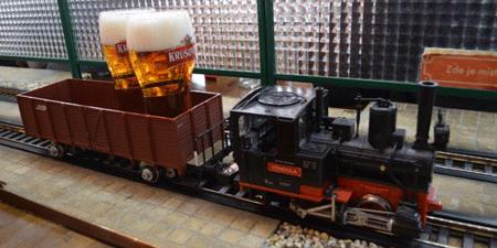 Vytopna Railway, un bar à thème sympa, un des meilleurs bars à Prague